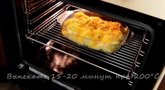 Запекаем цветную капусту в духовке под сыром и сметаной