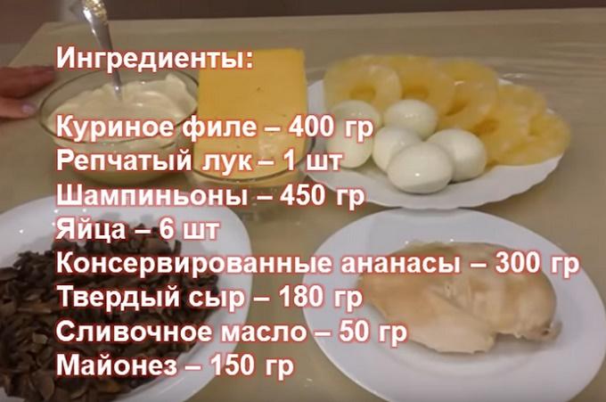 Ингредиенты22