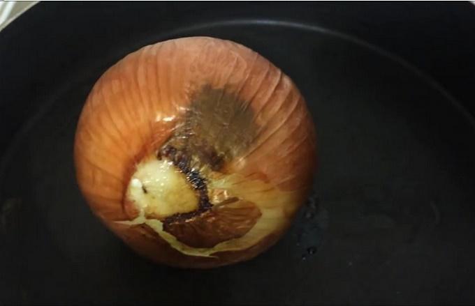 Запекаем луковицу
