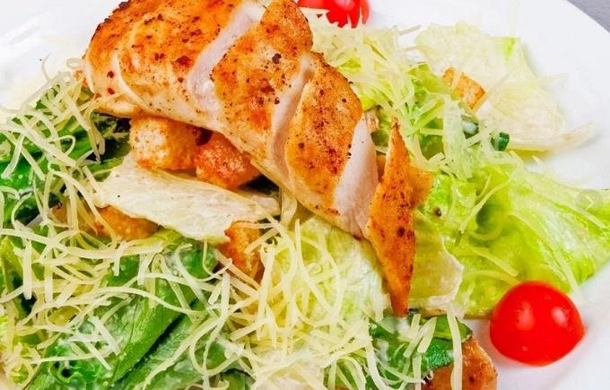 Курица для салата Цезарь
