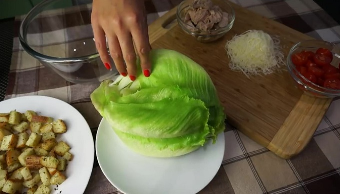 Салат ромен