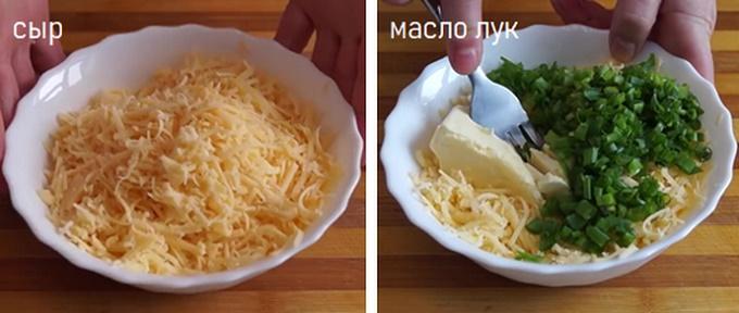 Готовим начинку из сыра
