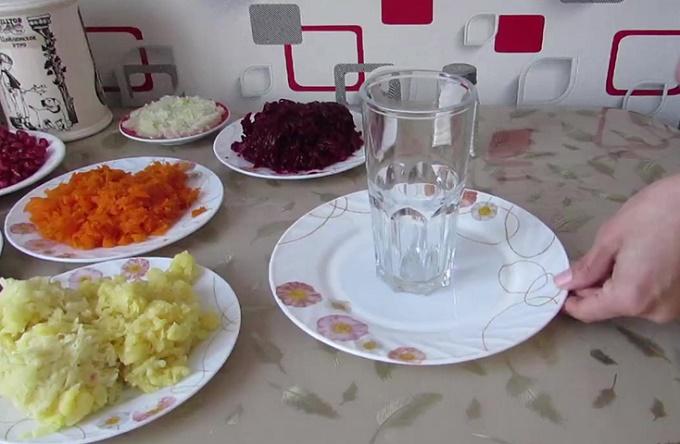 Подготовка сервировочного блюда