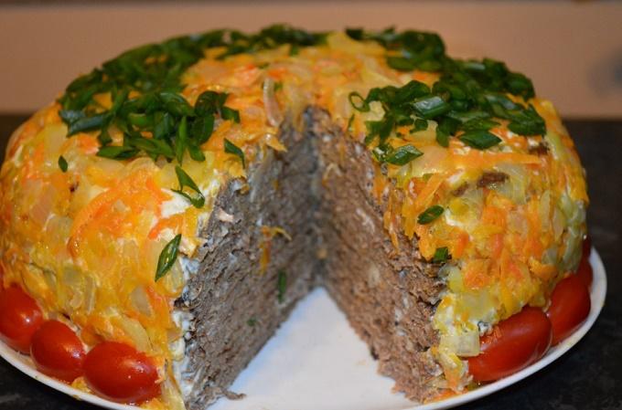 Паштетный торт