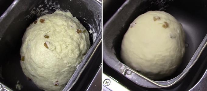 Происходит процесс выпечки