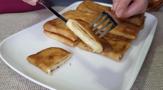 Начинка для блинчиков с сыром