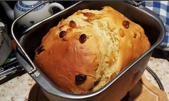 Пасхальный кулич в хлебопечке Мулинекс