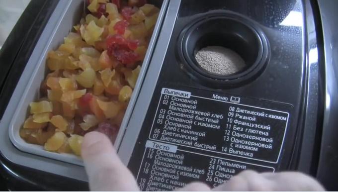 Пасхальный кулич в хлебопечке Панасоник