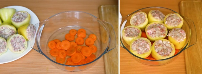 Режем морковь кружочками