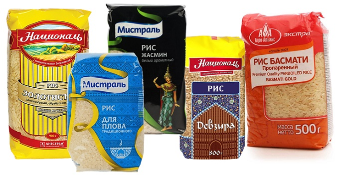 Сорта риса для плова