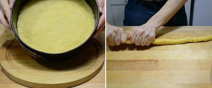 Формируем тесто для пирога