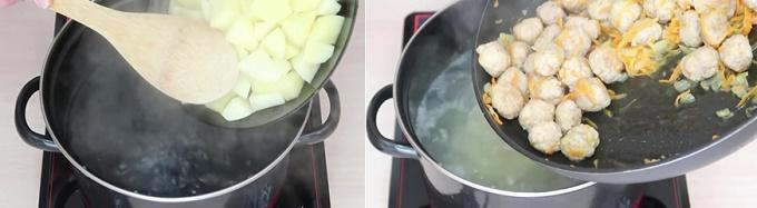 Варим суп с фрикадельками