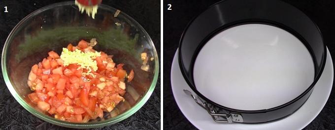 Форма для слоеного салата