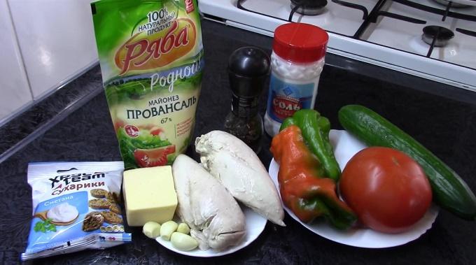 Ингредиенты для этого салата