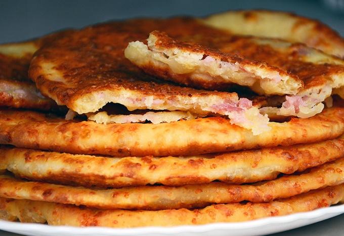 Лепешки на завтрак за 15 минут
