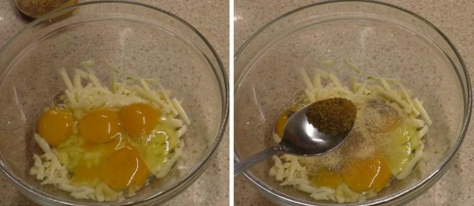 Яйца и специи