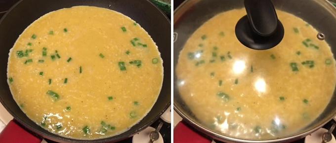 Жарим омлет