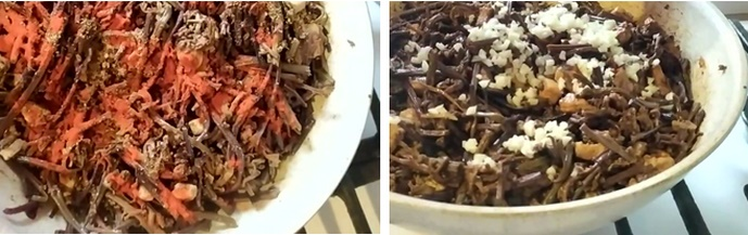 Специи в салате