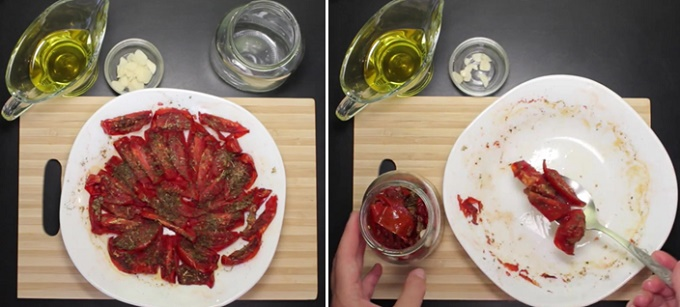 Провяленные в духовке помидоры