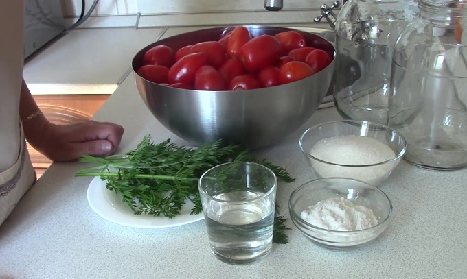 Ингредиенты для 2 литровых банок