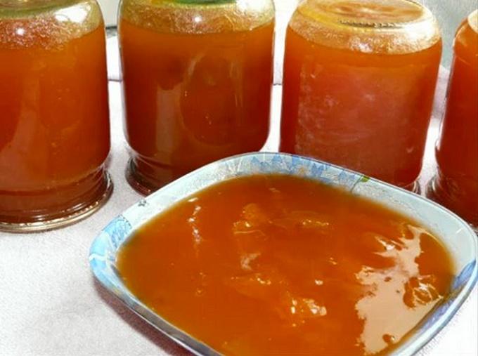 Варенье из абрикосов Пятиминутка