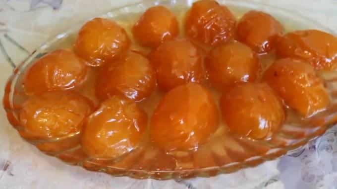 Варенье из абрикосов целыми ягодами