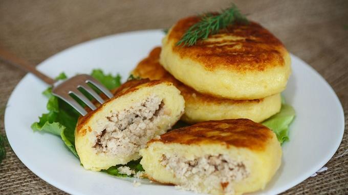 Картофельные зразы – 7 рецептов картофельных зраз с разными начинками